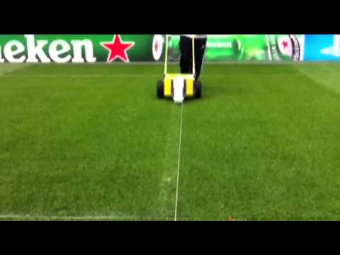 Raycam Line Maker (how To Mark Out) By Campey Turf Care Systems