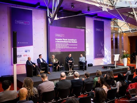 """Investor Panel: """"Investing in a Decentralized Eco-System""""   Blockstack Berlin 2018"""
