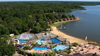 Camping Capfun 4* 'La Paillote': camping dans les Landes avec piscine et lac