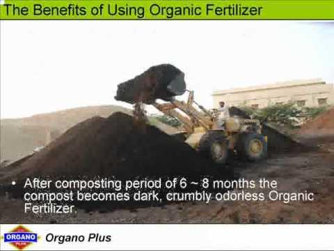 Organic Fertilizer & Soil Conditioner