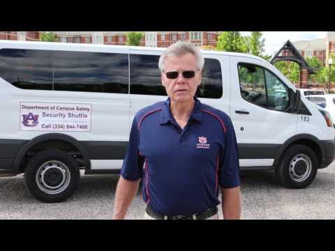 AU Security Shuttle Driver 2017