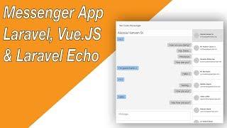 Messenger App with Laravel, Vue.JS & Laravel Echo (E02 - Components & Design)
