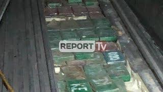 Durrës, kapet sasia rekord prej 613 kg kokainë në kontenierin e bananeve që vinte nga Kolumbia