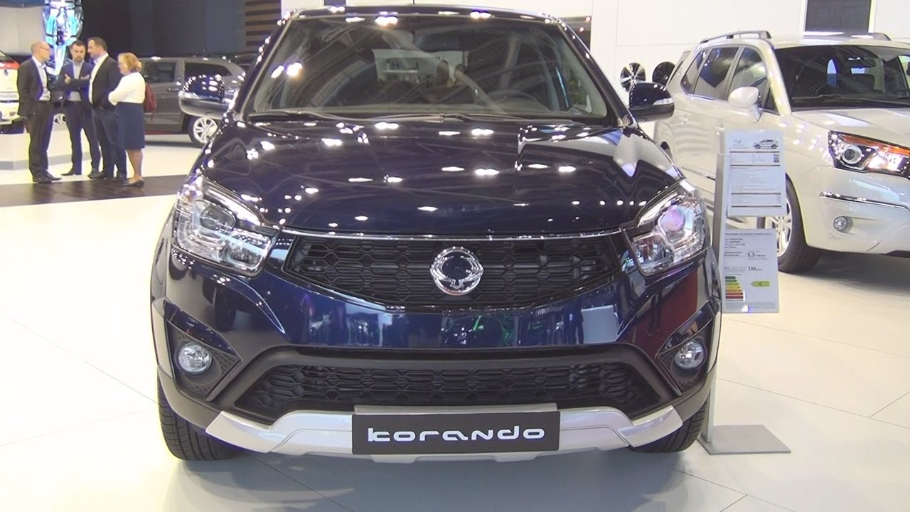 ssangyong korando 220 e xdi pack sport 2wd m t 2017 exterior and interior in 3d youtube. Black Bedroom Furniture Sets. Home Design Ideas
