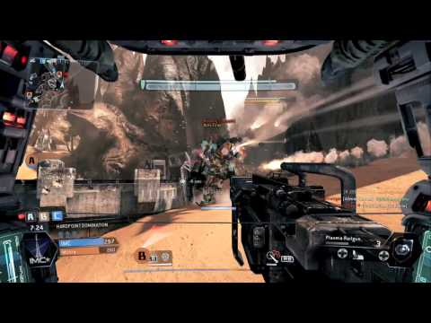 Titanfall - How to kill the Dinosaurs(Dragons or Flyers) - Get lots of XP