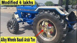 ਸ਼ੋਂਕ ਦਾ ਕੋਈ ਮੁੱਲ ਨਹੀਂ | Modified Ford 3600 Tractor | Big Tires | New Lights |