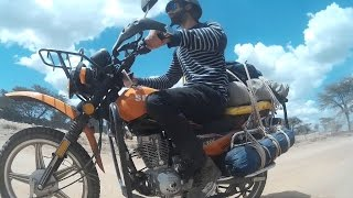 Motorcycle route in Kenya - Ruta en moto en Kenia - Kuendesha Pikipiki Kenya