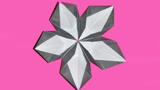 Origami Flower. Very Easy To Do . Ideas For Easter. House Decoration