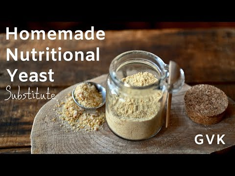 Homemade Nutritional Yeast Substitute