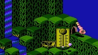 Snake Rattle 'n' Roll (NES) Playthrough - NintendoComplete