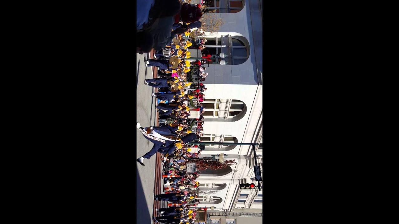 Greensboro Christmas Parade 2015 NC A&T Show - YouTube