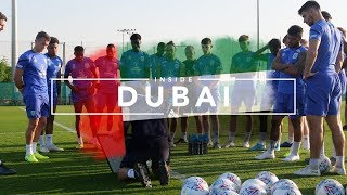 ⚽️ ON THE TRAINING PITCH! INSIDE DUBAI | Day Two Part Two