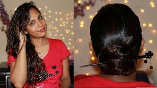 How to Apply Hair Oil For Hair Growth & Conditioning