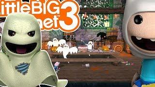 Littlebigplanet 3   Halloween Mansion [xxalexinlbpxx]   Playstation 4