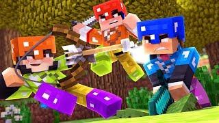 Minecraft: BINGOPVP - 2 CONTRA 1 - ‹ JUAUM ›