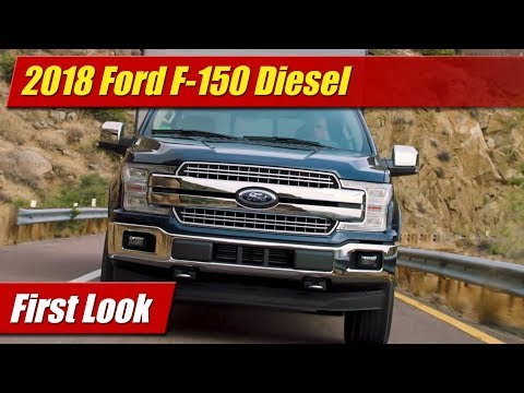2018 Ford F-150 Diesel: First Look