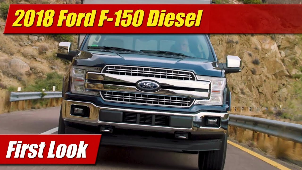 2018 ford f 150 diesel first look