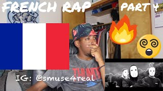FIRST REACTION TO FRENCH RAP / HIP HOP PART 4