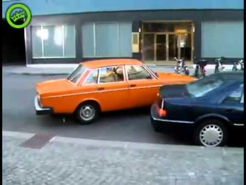 Аварии на парковке. Большая нарезка видео аварий.