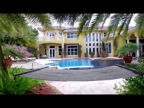 Prestigious Waterfront Home in Weston, Florida