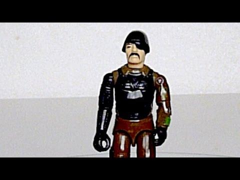 1983 Major Bludd (Mercenary) G.I. Joe review