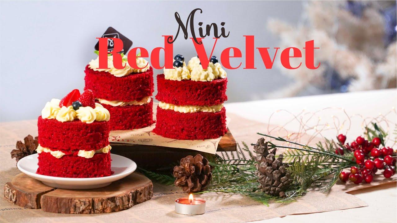 Cách Làm Bánh Mini Red Velvet Thơm Ngon Khó Cưỡng   Hướng Nghiệp Á Âu