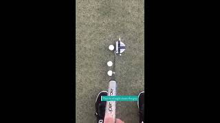 Simple Putting Drill to Improve Contact and Distance Control