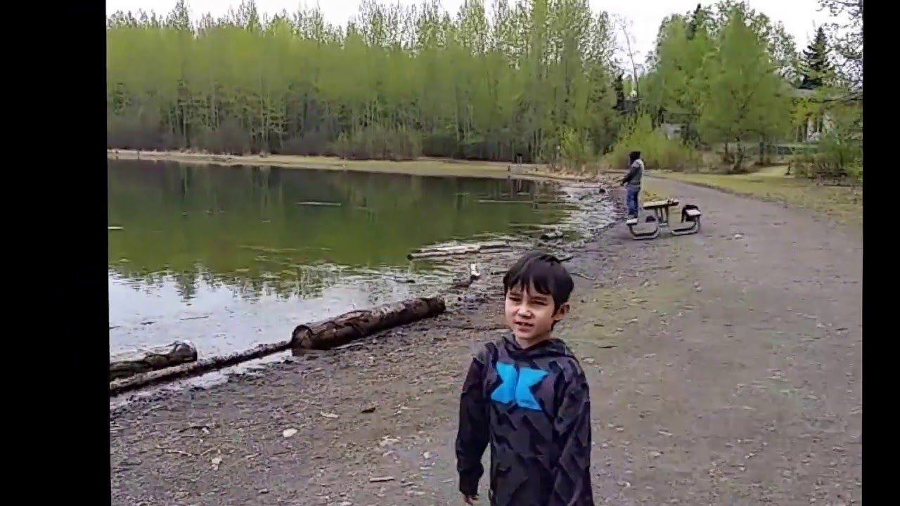 Cheney lake park anchorage alaska youtube for Cheney lake fishing report