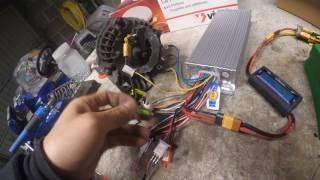 fonction et cablage controleur é-bike alternateur en moteur