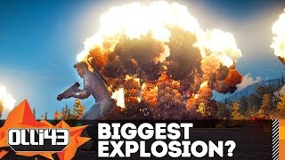 BIGGEST NUKE EXPLOSION! Just Cause 3 Mods Showcase!