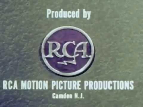 Radio Corporation of America logo (1958, closing)