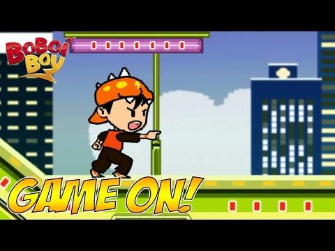 BoBoiBoy (English)  S1E7 | Game On!