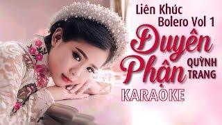 Karaoke | Liên Khúc Duyên Phận - Éo Le Cuộc Tình - Lk Nhạc Trữ Tình Bolero Karaoke Đặc Biệt Vol 1
