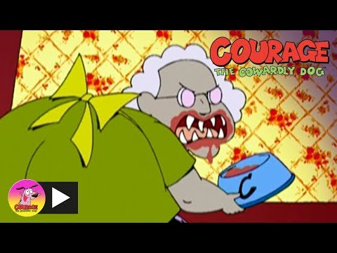 Courage The Cowardly Dog | Were-mole | Cartoon Network