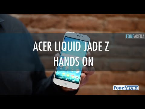 Acer Liquid Jade Z Hands On