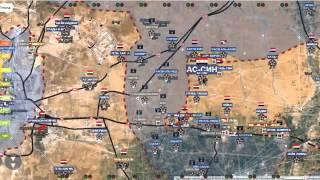 Сирия новости!Обзор карты боевых действий в Сирии, Ираке и Йемене от 20 02 2016г
