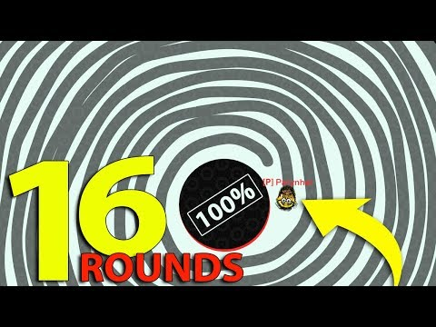 Paper.io 3 © World Record Again With 16 Rounds Longest Line Tactic Play Direct Control Map 100%