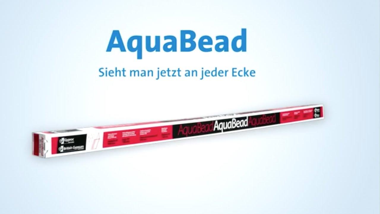rigips aquabead kantenschutz - youtube