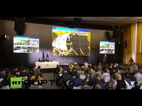 LIVE: Arms manufacturer Almaz-Antey to deliver MH17 report in Moscow