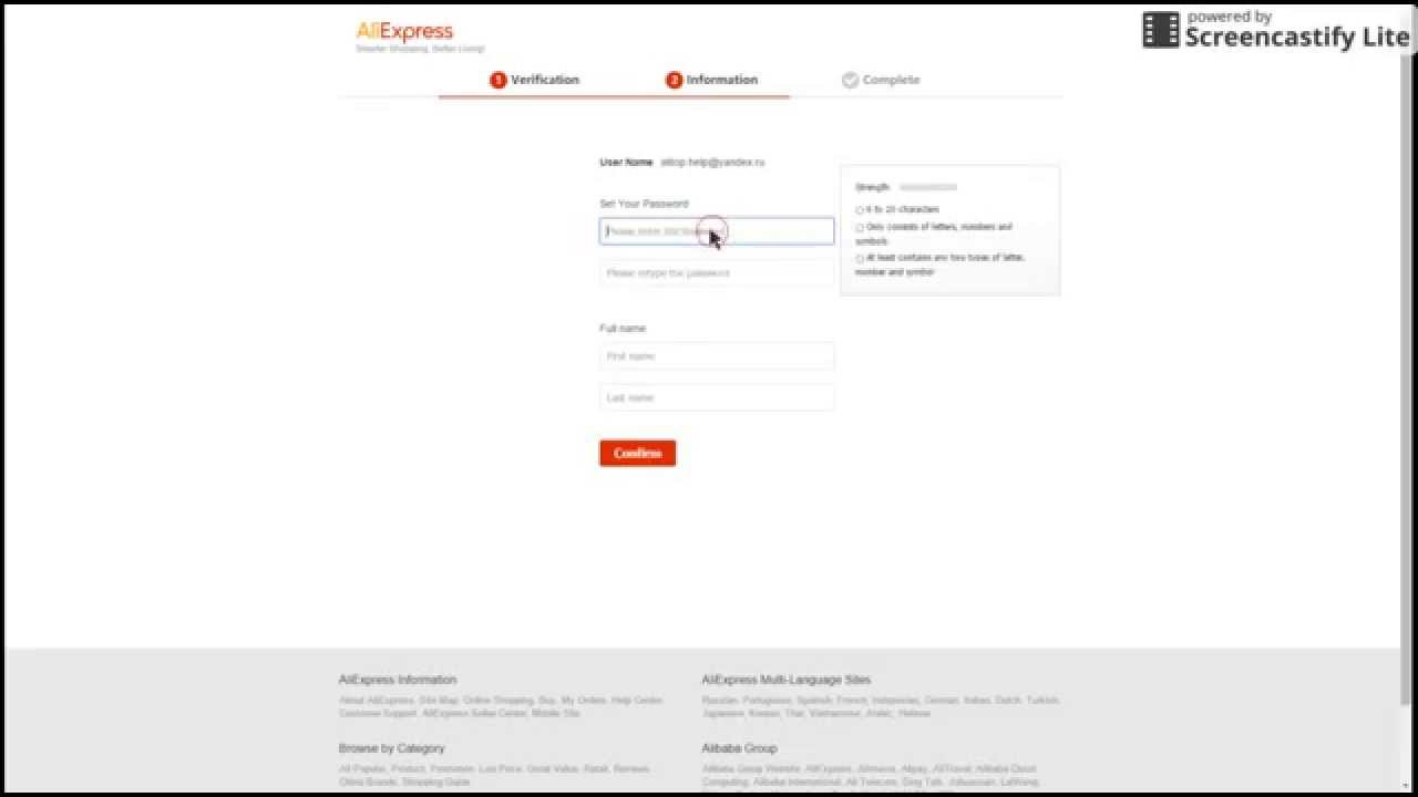 How to register on Aliexpress 73
