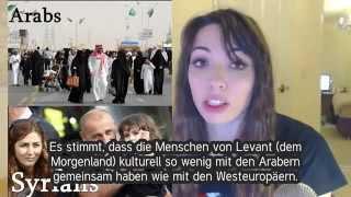 Junge Frau aus Syrien Spricht über die Zerstörung und Vertreibung