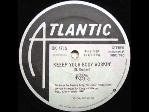 Kleeer - Keep Your Body Working (instrumental)