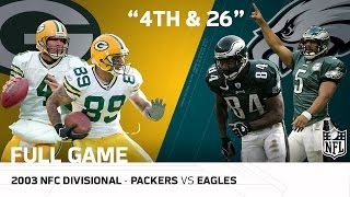 Packers vs. Eagles 2003 NFC Divisional Playoffs |
