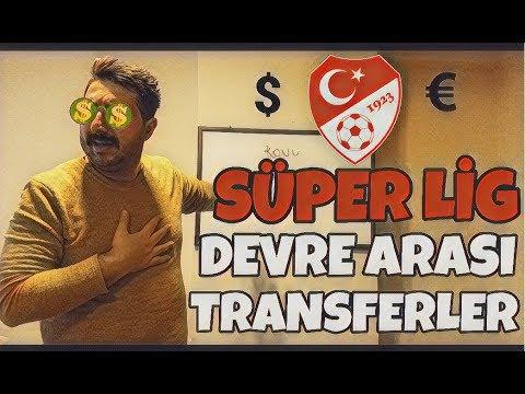 Süper Lig Devre Arası Transferler DEĞERLENDİRME