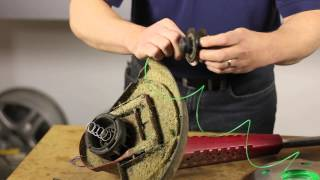 How to Replace the String on a Toro Trimmer : Lawn Care & Power Tools