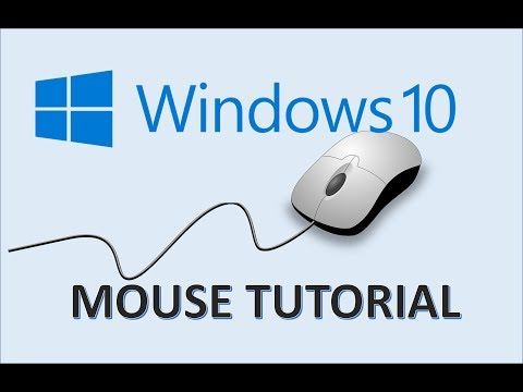 Windows 10 - Computer Mouse Tutorial - Learn How To Use Computers -  The Windows 10 PC For Beginners