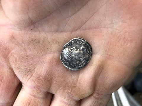 Quest Q40 Finds Beautiful Silver Roman Coin