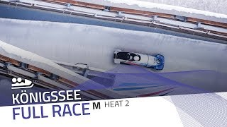 KÖnigssee | BMW IBSF World Cup 2018/2019 - 2-Man Bobsleigh Heat 2 | IBSF Official