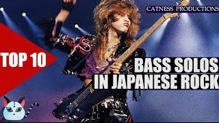 TOP 10: Bass solos in J-Rock/Visual kei | Catness Productions