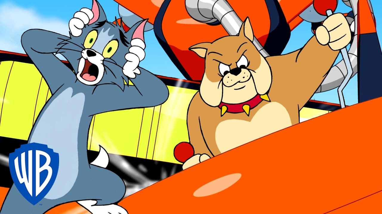 Tom & Jerry | Spike's Giant Robot | WB Kids